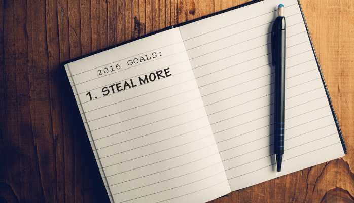 In 2016, try to Steal more!